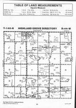 Map Image 058, Clay County 1992